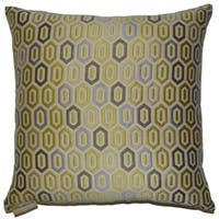 Devi Decorative Feather and Down Filled Throw Pillow