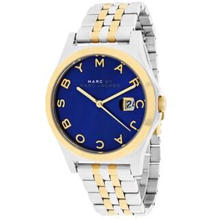 Marc Jacobs Women's MBM3359 The Slim Round Two-tone Bracelet Watch