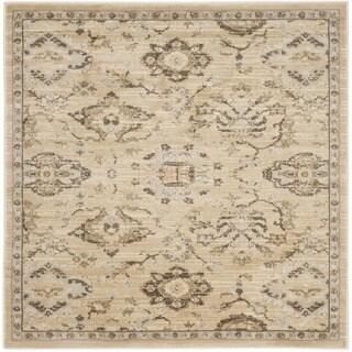 Safavieh Florenteen Ivory/ Grey Rug (5' Square)