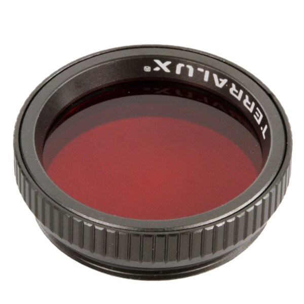 TerraLUX Flashlight Filter, Fits TT-5 and TDR-2, Red