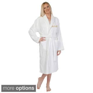 Authentic Hotel and Spa Embroidered 'Mom' Terry Cloth Turkish Cotton Bath Robe|https://ak1.ostkcdn.com/images/products/9998779/P17148231.jpg?impolicy=medium