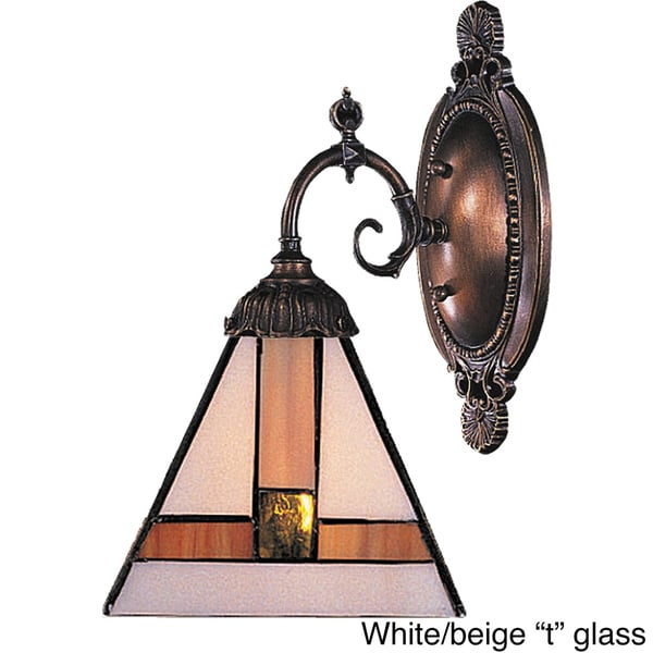 Mix-N-Match Tiffany Bronze Multiple Styles 1-light Sconce