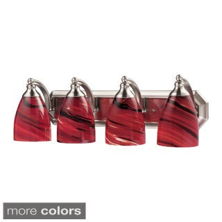 Celina Nickel 4-light Vanity