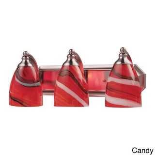 Celina Nickel 3-light Vanity