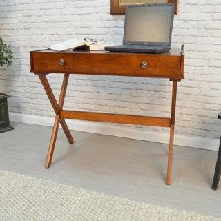 Alice Flip Top Desk (Option: Chestnut Finish)