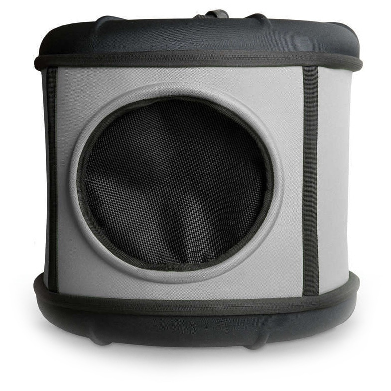 K&H Pet Products Mod Capsule Covered Cat Bed (Grey/ black)