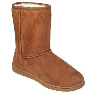 Dawgs Women's Microfiber 9-inch Cozy Boots