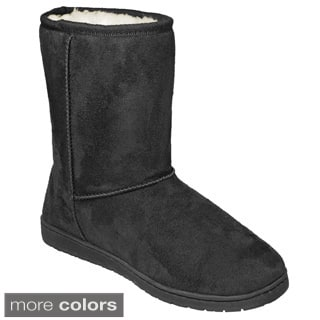 Dawgs Women's Microfiber 9-inch Cozy Boots (Option: 9)|https://ak1.ostkcdn.com/images/products/9998923/P17148320.jpg?impolicy=medium