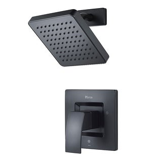 Pfister Kenzo Shower Trim Kenzo Shower Trim Kit 1-handle Matte Black