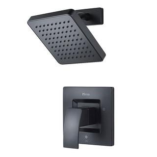 Pfister Kenzo 1-Handle Shower, Trim Only LG89-7DFB Black
