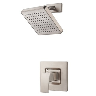 Pfister Kenzo Shower Trim Kenzo Shower Trim Kit 1-handle Brushed Nickel