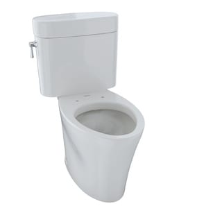 Toto Econexus Elongated Bowl and Tank Colonial White