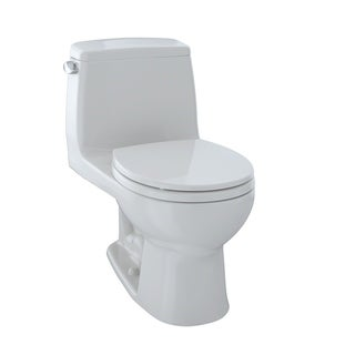 Toto UltraMax One-Piece Round Bowl 1.6 GPF Toilet, Colonial White (MS853113S#11)