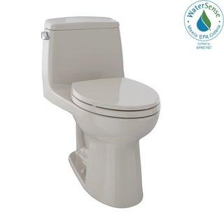 Toto Eco UltraMax One-Piece Elongated 1.28 GPF Toilet MS854114E#03 Bone