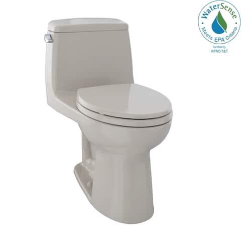 Toto Eco UltraMax One-Piece Elongated 1.28 GPF Toilet, Bone (MS854114E#03)