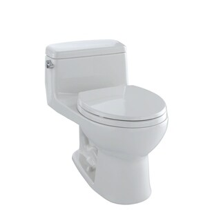 Toto Eco Supreme Round 1-piece Toilet Colonial White