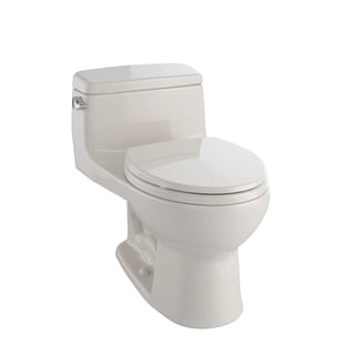 Toto Eco Supreme Round 1-piece Toilet Bone