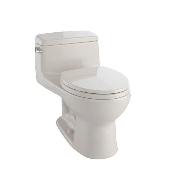Shop Toto Eco Supreme One Piece Round Bowl 1 28 Gpf Toilet