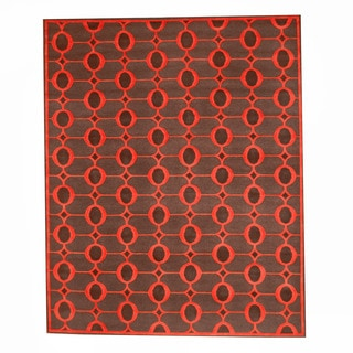 Herat Oriental Indo Hand-knotted Tibetan Wool Rug (8' x 10')