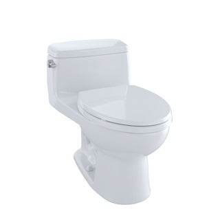 Toto Eco Supreme Elongated 1-piece Toilet Cotton