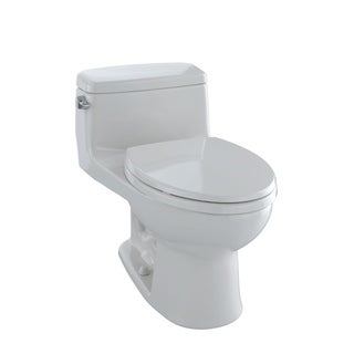 Toto Eco Supreme Elongated 1-piece Toilet Colonial White