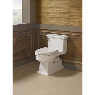 Toto 1-piece Toilet Lloyd High Efficiency Toilet Cotton