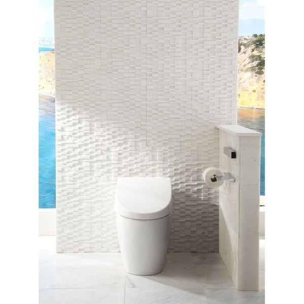 Shop Toto Neorest 550H Dual Flush 1 or 0.8 GPF Toilet with ...