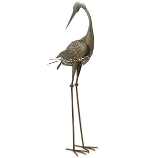 Link to National Tree Company 35-inch Antique Green Crane Similar Items in Garden Accents