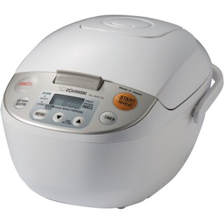 Zojirushi NL-AAC10 Micom Rice Cooker (Uncooked) and Warmer 5.5 Cups/1.0-Liter