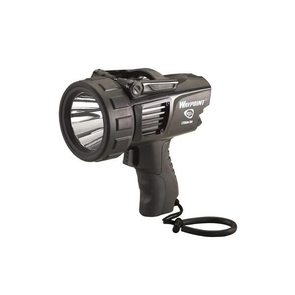 Streamlight Waypoint Black Rechargable 120V AC Spotlight
