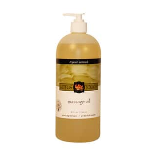 Lotus Touch Organic Naturals 32-ounce Massage Oil|https://ak1.ostkcdn.com/images/products/9999170/P17148533.jpg?impolicy=medium