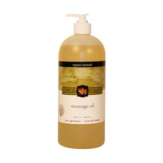 Lotus Touch Organic Naturals 32-ounce Massage Oil
