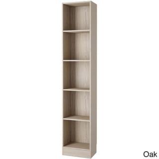 Element Tall Narrow 5-shelf Bookcase