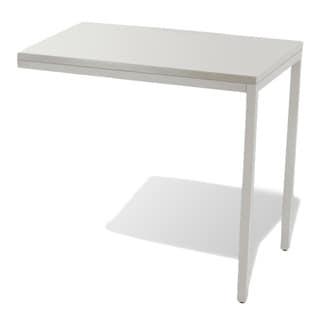 White Parsons Return Desk
