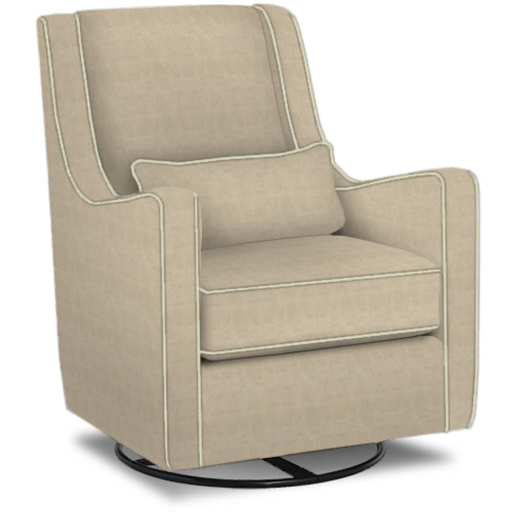 Klaussner Made to Order Laura Swivel Glider (Swivel Glide...
