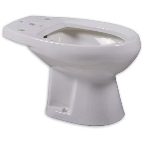 American Standard Cadet For Deck Mounted Fitting White Bidet