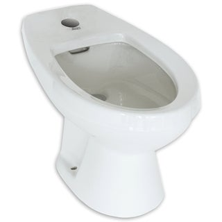 American Standard Cadet For Deck Mounted Chrome Fitting White Bidet