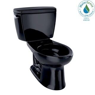Toto Eco Drake Two-Piece Elongated 1.28 GPF ADA Compliant Toilet CST744EL#51 Ebony