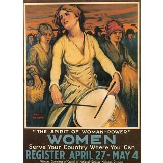 Marmont Hill Art Collective 'Women' Canvas Art