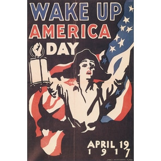 Marmont Hill Art Collective 'Wake Up America 2' Canvas Art