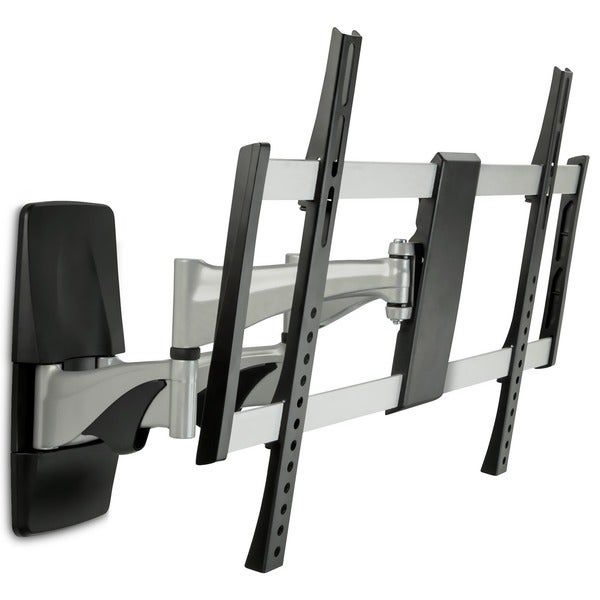 shop mount it 37 to 70 inch single stud full motion arm tv wall mount free shipping today. Black Bedroom Furniture Sets. Home Design Ideas