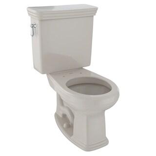 Toto Promenade Two-Piece Round 1.6 GPF Universal Height Toilet CST423SF#03 Bone
