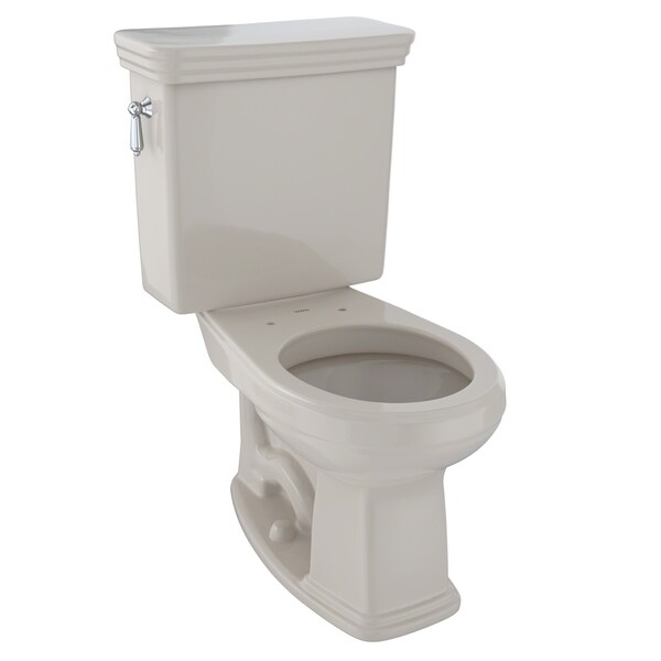 Toto Promenade Two-Piece Round 1.6 GPF Universal Height Toilet, Bone (CST423SF#03)