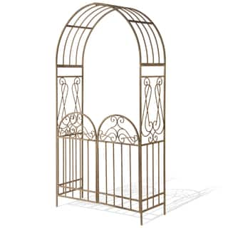 National Tree Company 93-inch Metal Arch with Gate https://ak1.ostkcdn.com/images/products/9999462/P17148796.jpg?impolicy=medium