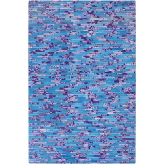 Hand-Crafted Jeremiah Animal Hair On Hide Area Rug