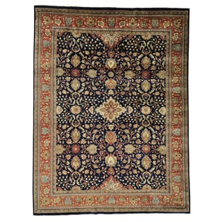 Sarouk Fereghan 300 kpsi New Zealand Wool Handmade Area Rug (9' x 12'1)