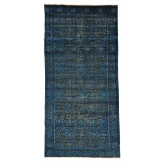 Overdyed Old Persian Mahal Oriental Handmade Area Rug (5' x 10'3)