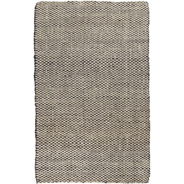 Hand-woven Alaya Stripe Jute Area Rug - 10' x 14'