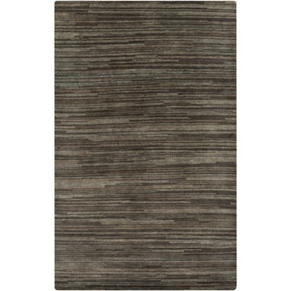 Hand-knotted Simone Solid Wool Rug (8' x 11')