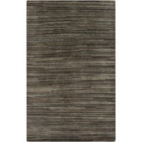 Hand-knotted Simone Solid Wool Area Rug (8' x 11')